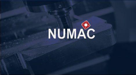 Mécanique de précision logo Numac