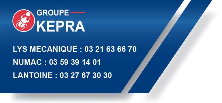 mécanique de précision contacts groupe KEPRA