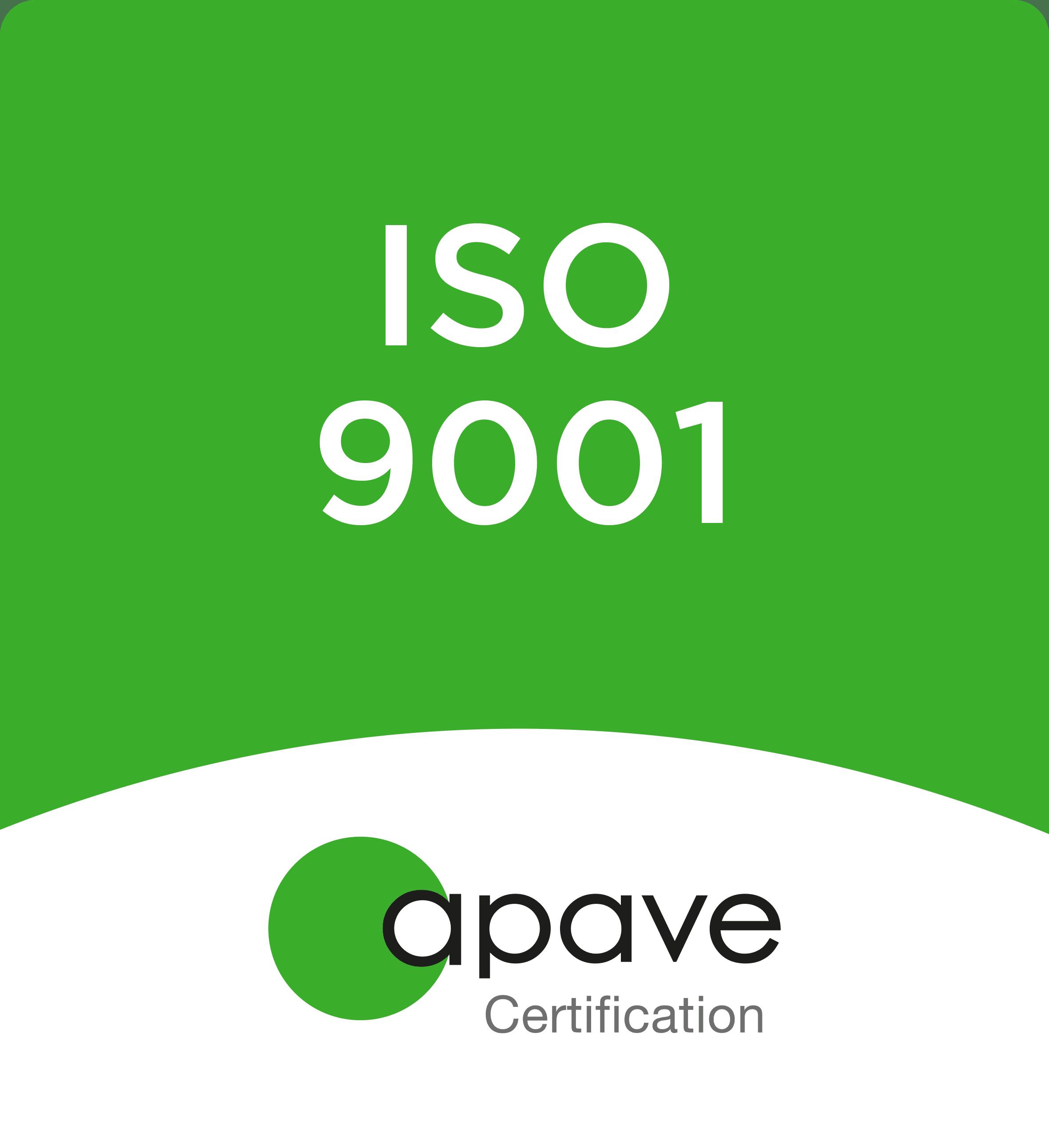 qualité ISO 9001